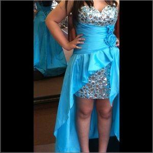 Alyce Black Label High Low Dress